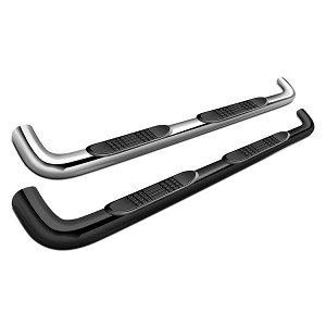 "SteelCraft 4"" Premium Oval Side Bars"